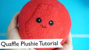 Cute Quidditch Quaffle Plushie Tutorial