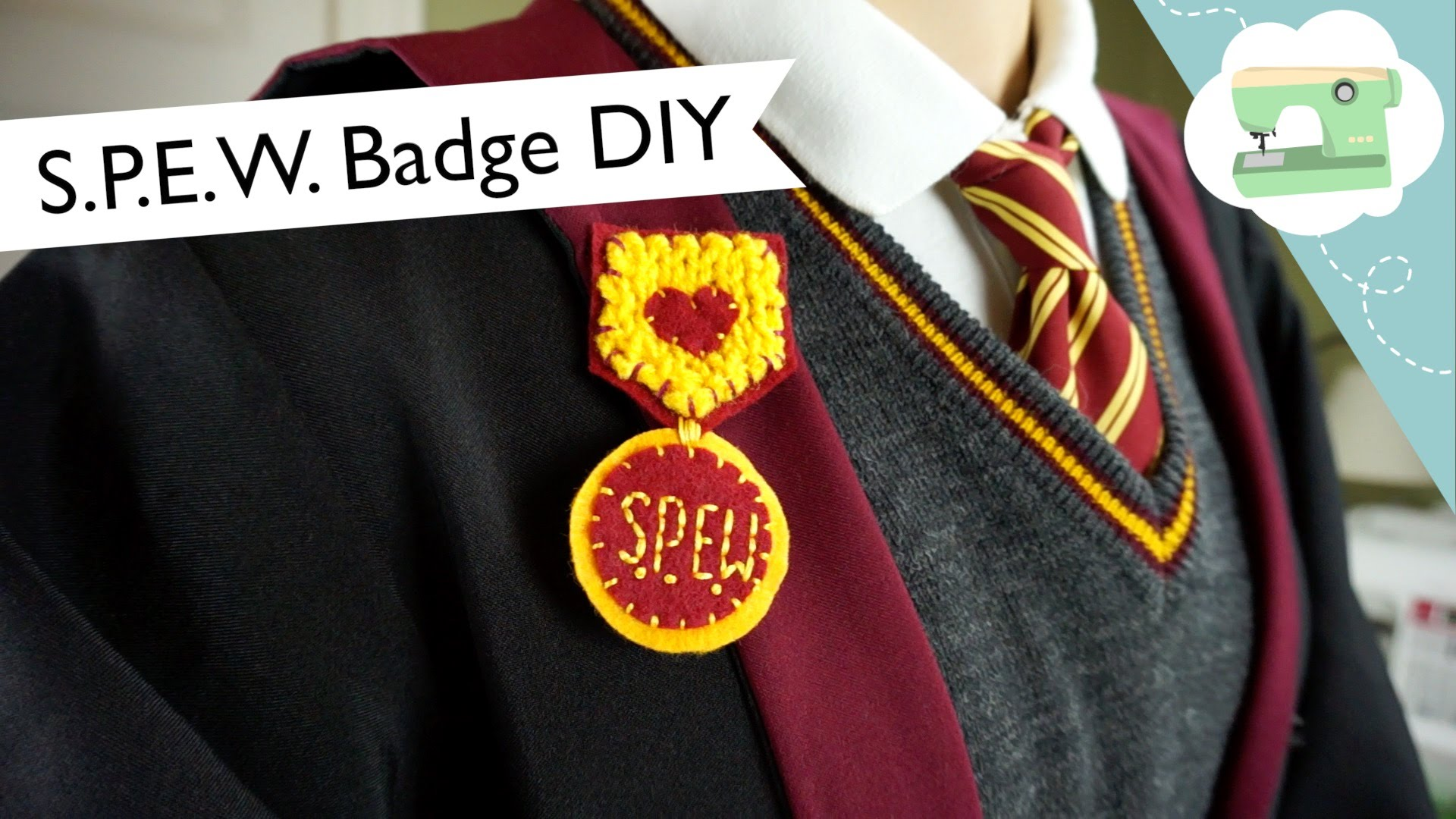 Make Hermione Granger's S.P.E.W. Badge!