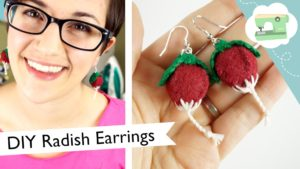 Make Luna Lovegood's Radish Earrings