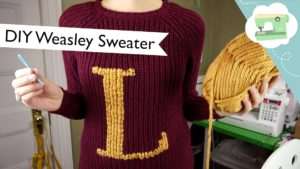 Turn a Muggle Sweater into a Weasley Sweater!