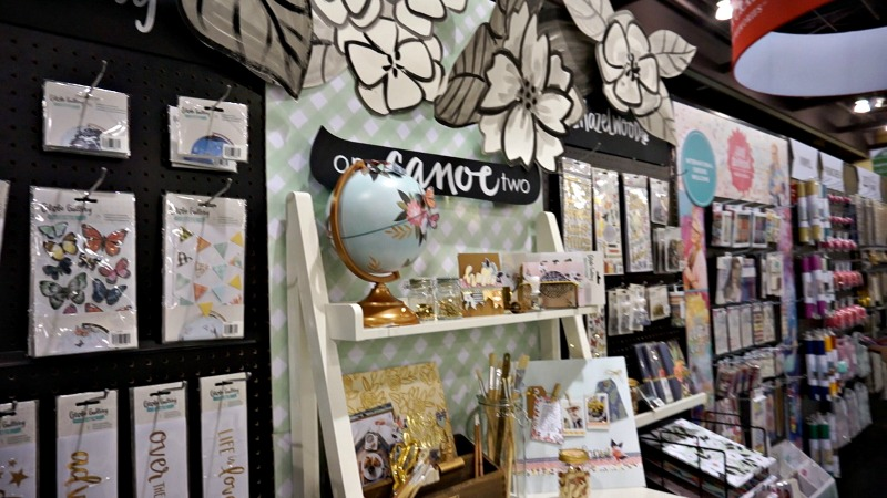 American Crafts booth at Creativation 2017