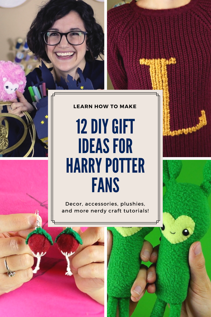 How To Make 12 Diy Holiday Gifts For Harry Potter Fans