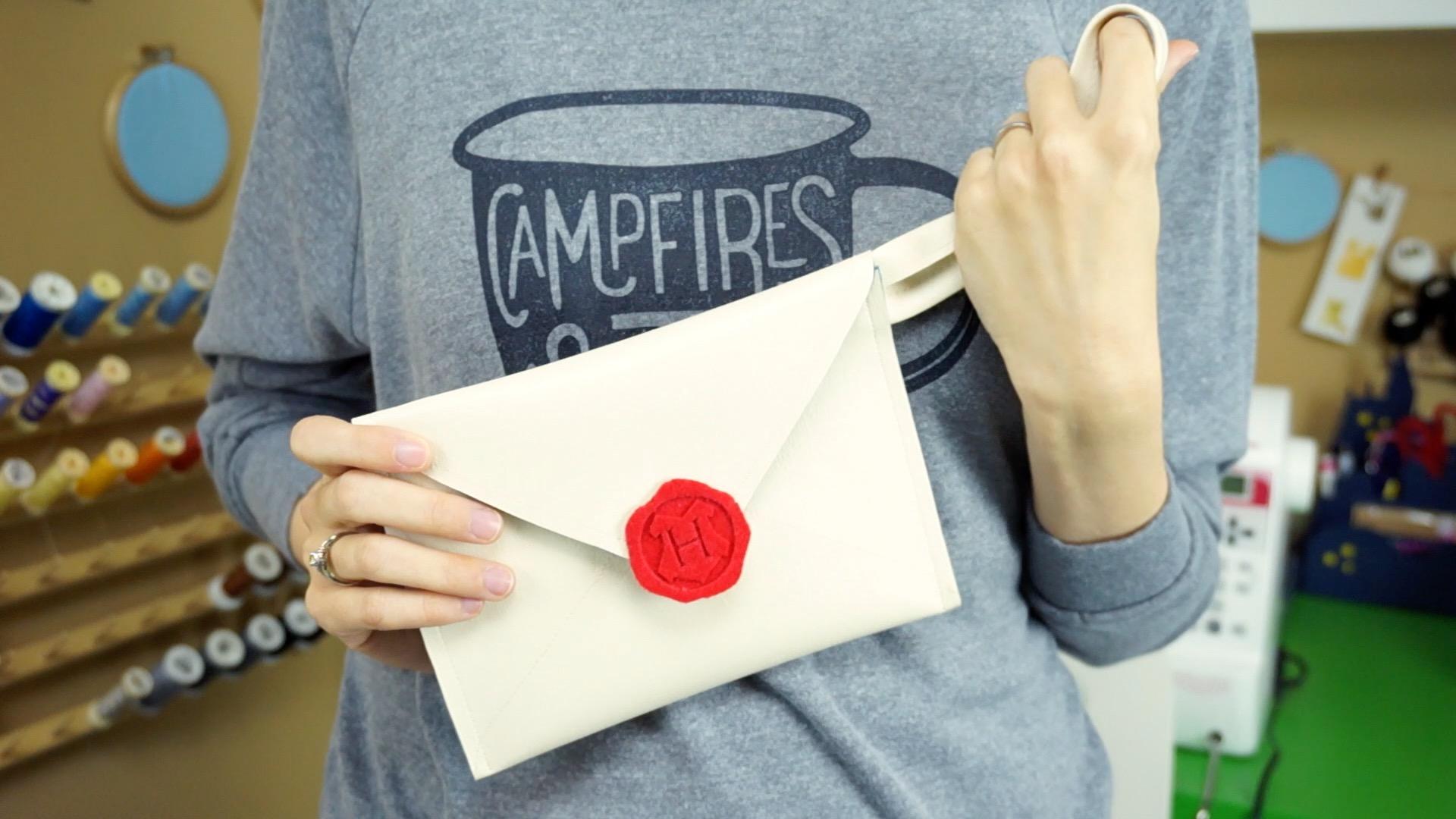 Hogwarts Letter Envelope Purse DIY