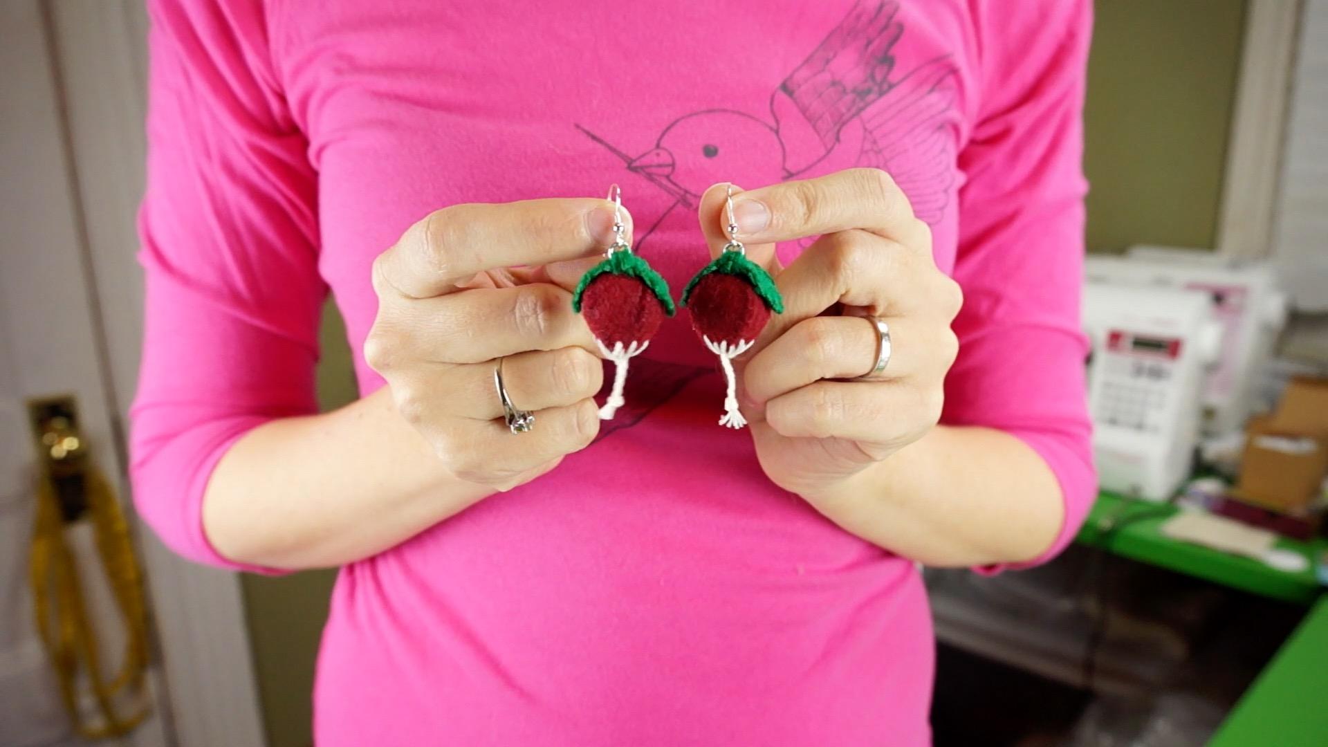 DIY Luna's Dirigible Plum Earrings